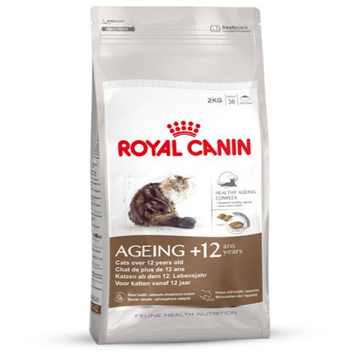 Royal Canin Ageing+12 Dry Cat Food (2KG)