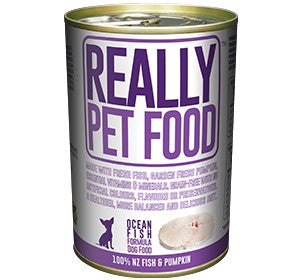Really Pet Food Ocean Fish Canned Dog Food (3x12x375G)