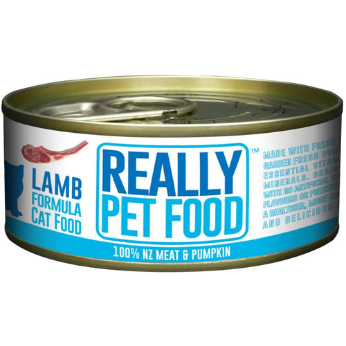Really Pet Food Lamb Canned Cat Food (24x90G)