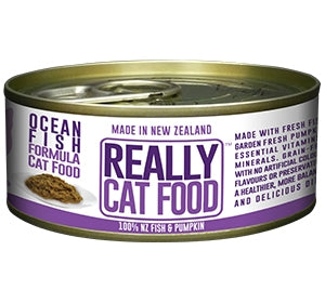 Really Pet Food Ocean Fish Canned Cat Food (24x90G)
