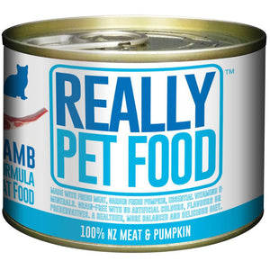 Really Pet Food Lamb Canned Cat Food (24x170G)