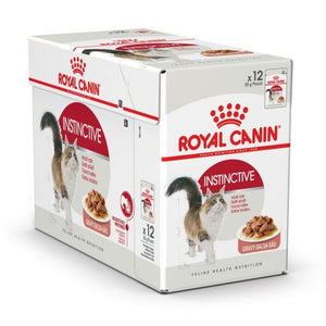 Royal Canin Instinctive Cat Pouch Food (3x12x85g)