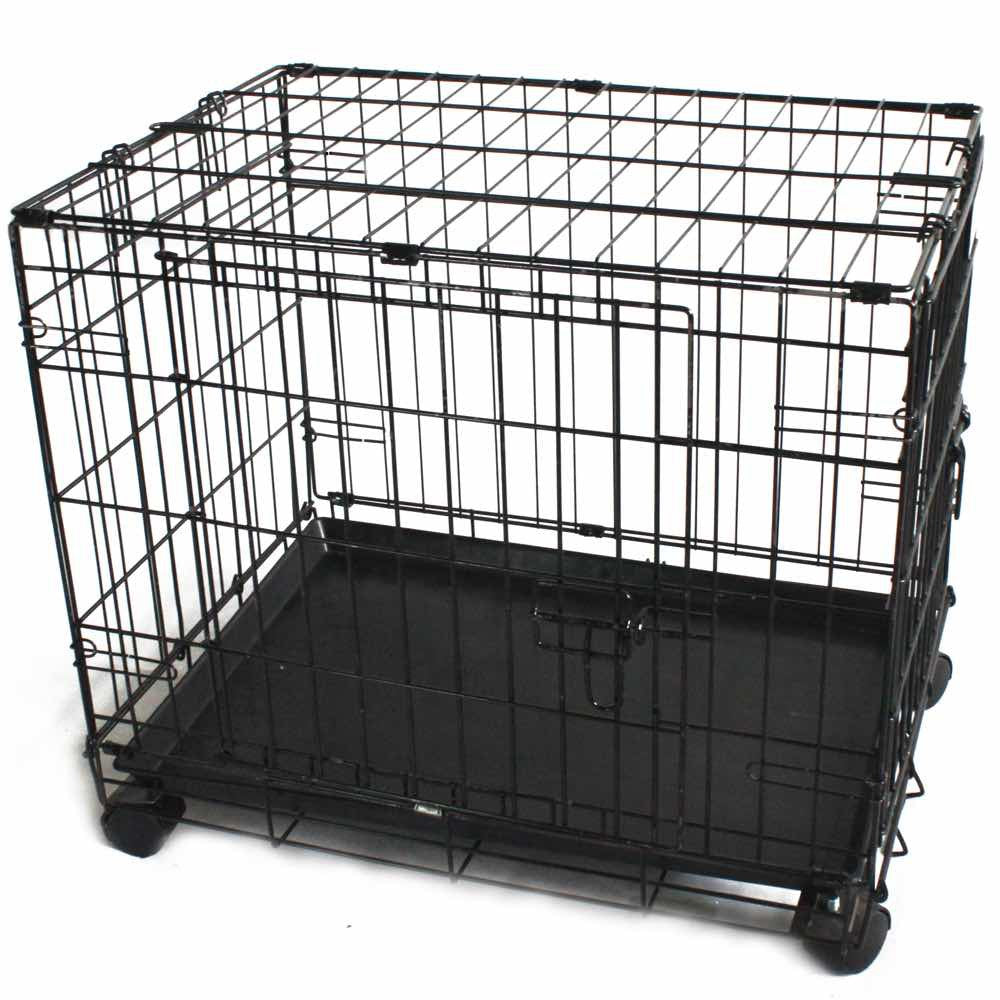 Simply Mansion Dog Cage With Wheels (2ft/3ft)