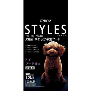 Sunrise Styles For Adult Toy Poodle Semi-Moist Dog Food (1.2kg)