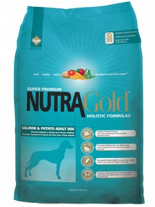 NutraGold Holistic Salmon & Potato Dry Dog Food 15KG