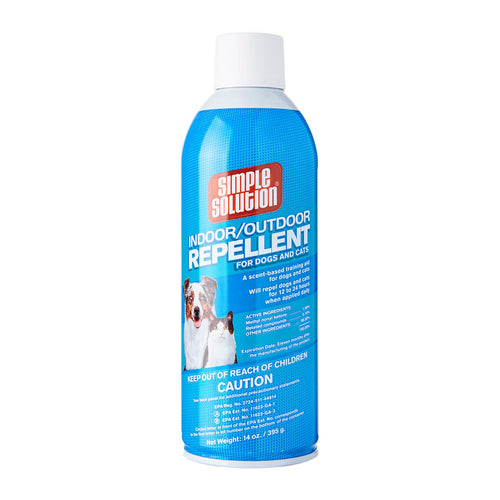 Simple Solution Indoor/Outdoor Repellent for Dogs and Cats