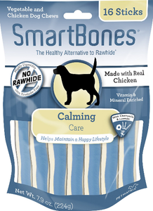 SmartBones Calming Care Chicken Chews Dog Treats, 16 sticks
