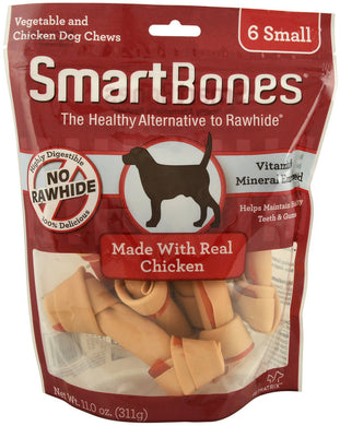 SmartBones Chicken (6 Small) Dog Treats
