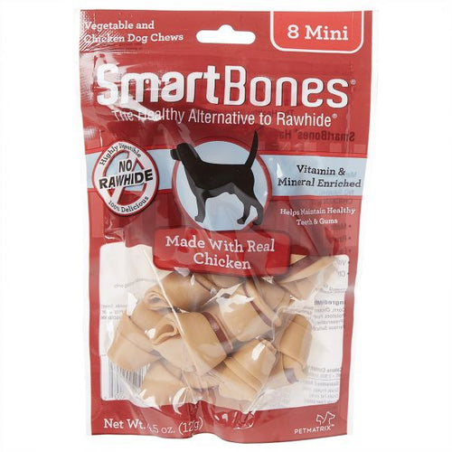 SmartBones Chicken (8 Mini) Dog Treats