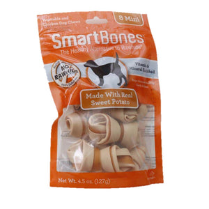 SmartBones Sweet Potato (8 Mini) Dog Treats