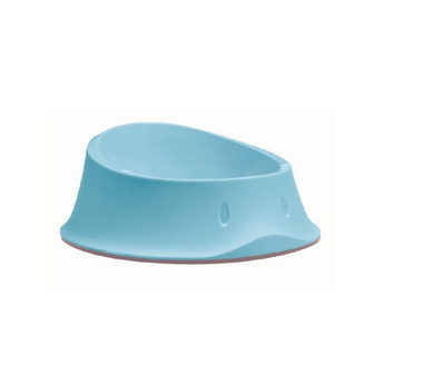 2 x Stefanplast Anti-Slip Chic Carribean Blue Dog Bowls