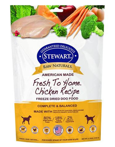 Stewart Raw Naturals Chicken Freeze Dried Dog Food (106g)