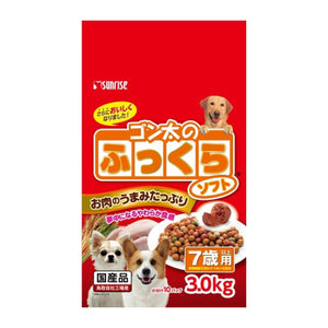 Sunrise Semi-Moist Dog Food Chicken 7+ (3KG)