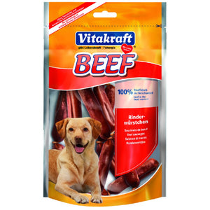 Vitakraft Beef Sausage Dog Treat 80G
