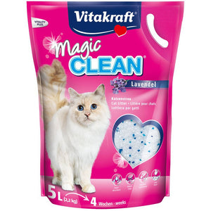 Vitakraft Magic Clean Lavender Cat Litter 5L