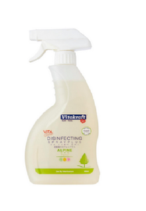 2 x Vitakraft Non-Toxic Disinfectant Spray Plus: Alpine Scent