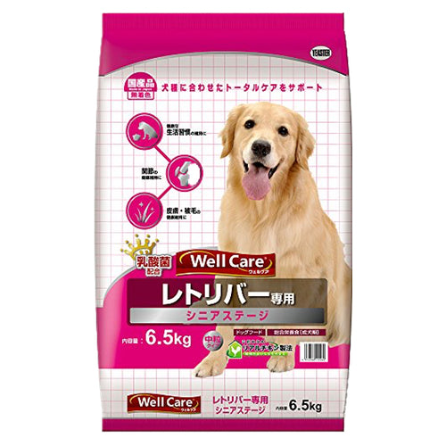 Yeaster Well Care Golden Retriever Dry Dog Food for Senior Dogs (6.5KG)