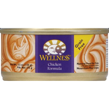 Wellness Chicken Canned Cat Food (3x24x155g)