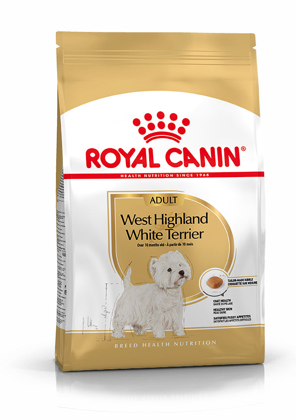Royal Canin - Westie Highland White Terrier Adult Dry Dog Food (3kg)