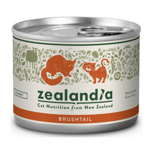 Zealandia Brushtail Canned Cat Food (3x12x170g)