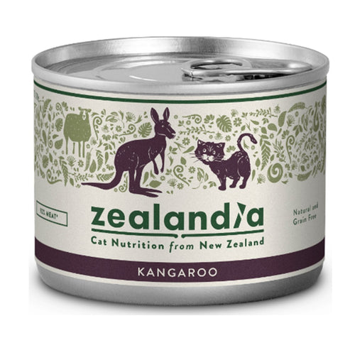 Zealandia Kangaroo Canned Cat Food (3x12x170g)