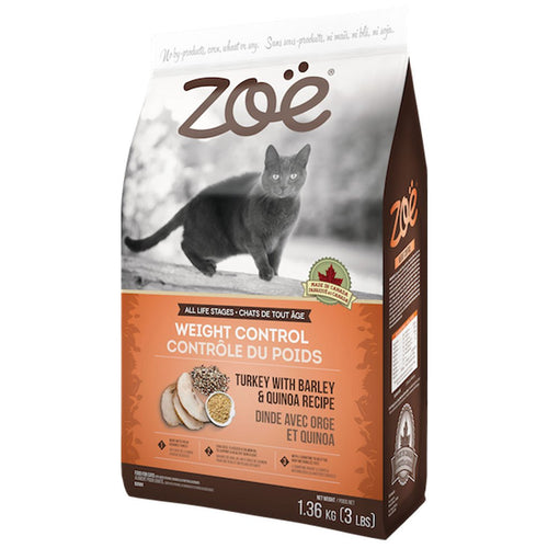Zoe Cat Daily Nutrition Turkey with Barley And Quinoa 1.36 KG