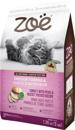 Zoe Cat Daily Nutrition Turkey with Peas russet potato 1.36 KG