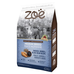 Zoe Chicken, Quinoa & Black Bean Dog Dry Food (5KG)