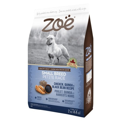 Zoe Chicken, Quinoa & Black Bean Dog Dry Food (2KG)