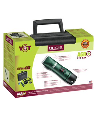Andis Super AGR Vet Pack Cordless Clipper, Green
