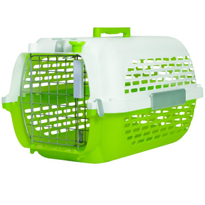 Dogit Voyageur Pet Carrier Green/White (Medium)