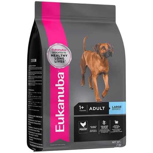 Eukanuba Adult Large Breed Chicken Dry Dog Food (9KG/15KG)