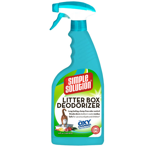 Simple Solution Litter Box Deodorizer for Cats