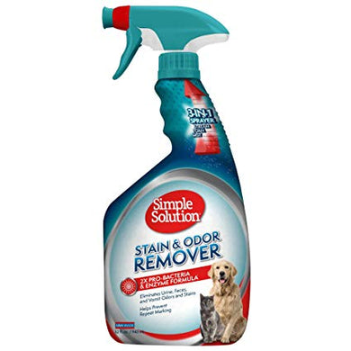 Simple Solution Pet Stain and Odor Remover 3in1 (945ml)