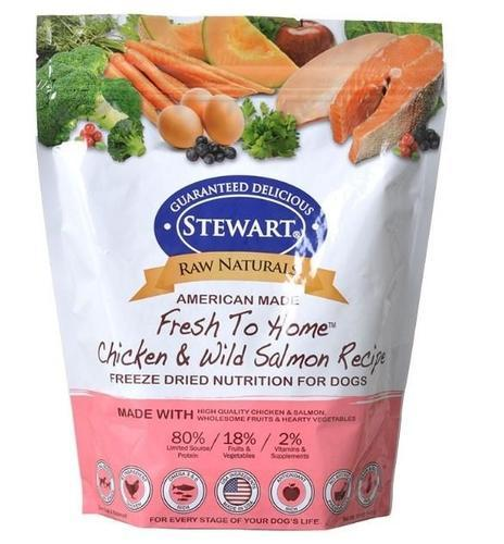 Stewart Raw Naturals Chicken & Wild Salmon Freeze Dried Dog Food (99g)