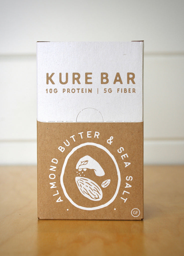 Almond Butter & Sea Salt - Six Bars Pack