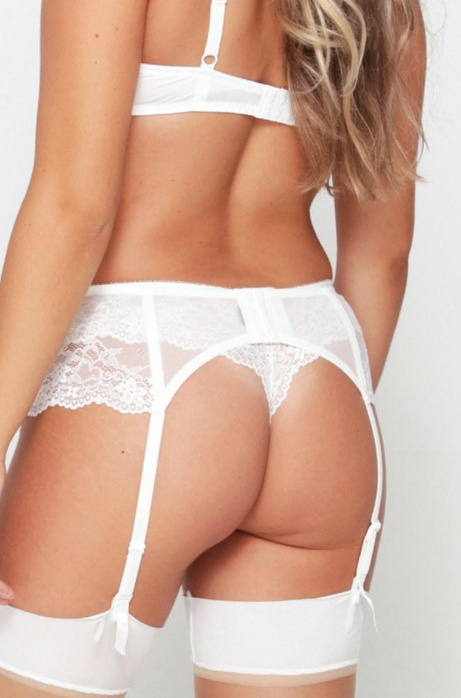 Daily Suspender Belt (Ivory)