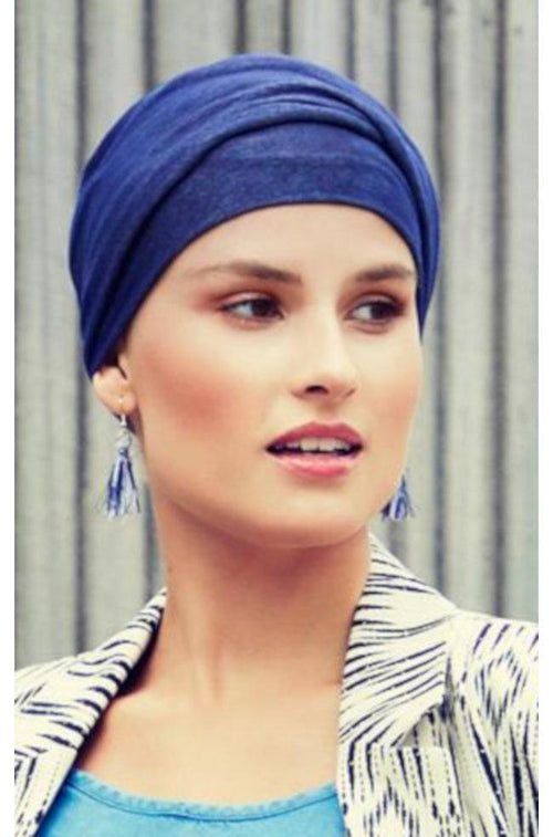 Zoya Turban (Denim)