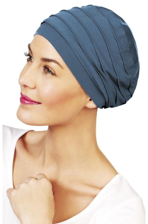 Yoga Bamboo Turban (Ocean Blue)