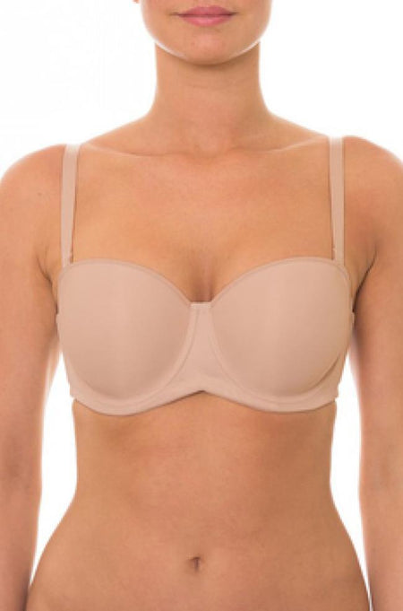 4 way Strapless U Bra (Nude)