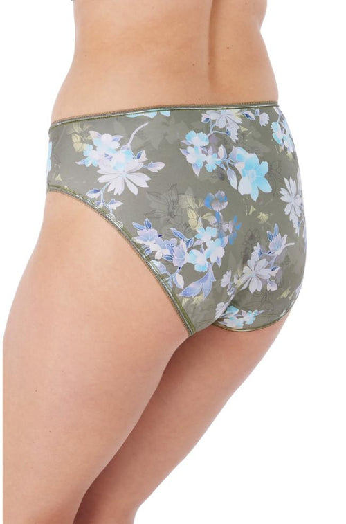 Emmie Brief (Sage/Floral)