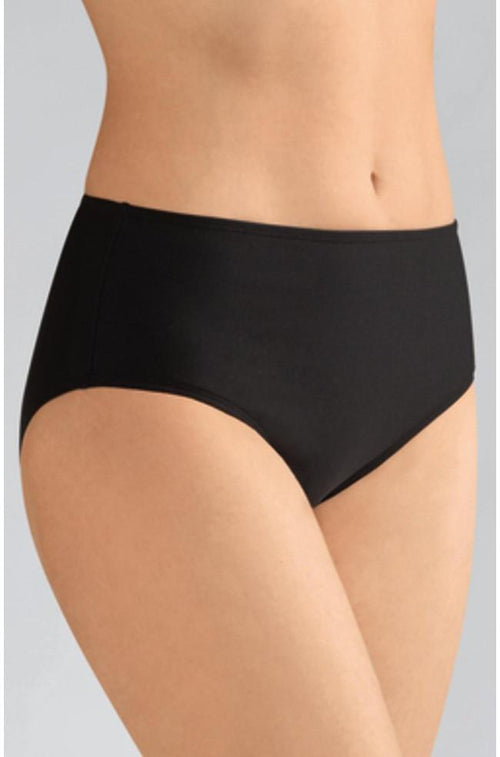 Florida High Waist Swim Bottoms (Black)