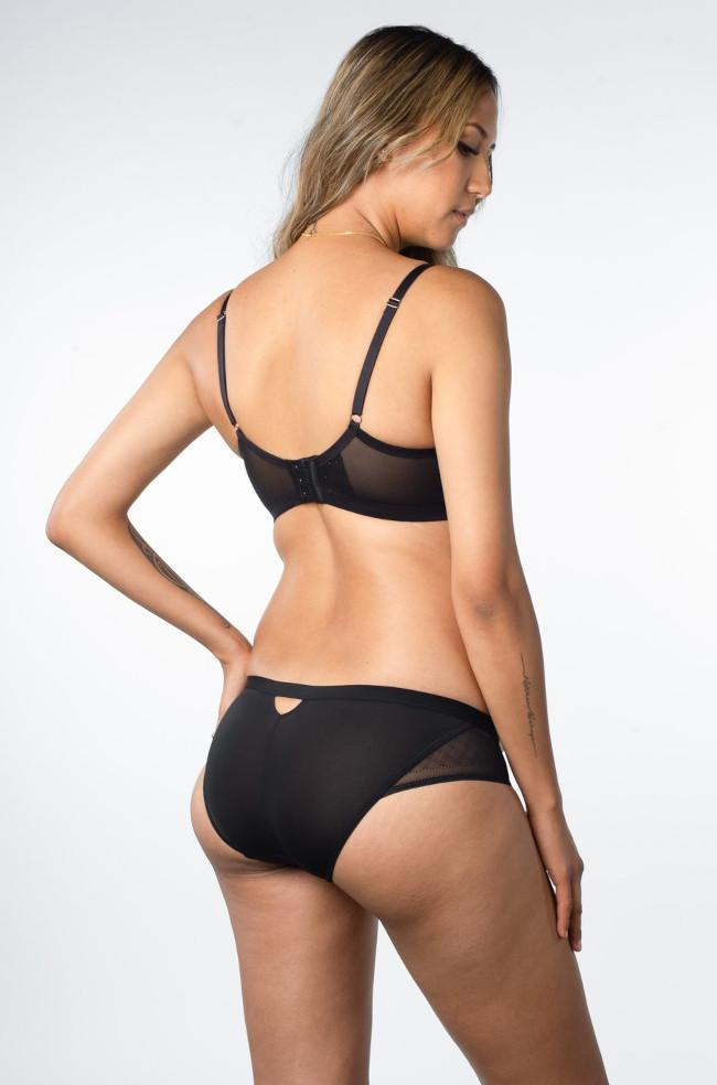 Lunar Eclipse Maternity Briefs (Black)