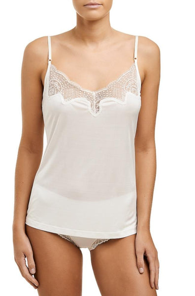 Silk Jersey Camisole (Black or Ivory)