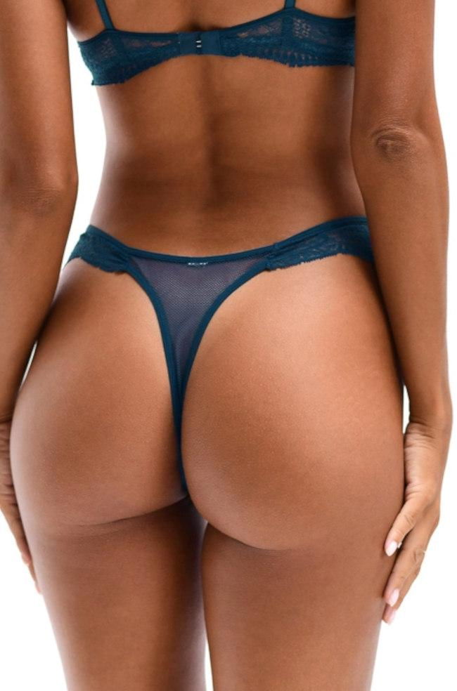 Sweetest Thing Thong (Ocean Blue)