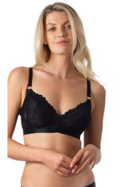 Warrior Wirefree Maternity Bra (Black)