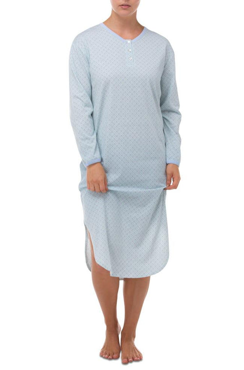 Susan Stretchy Cotton Nightie (Emerald)