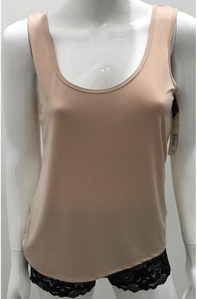 Classic Cut Singlet (Black or Nude)