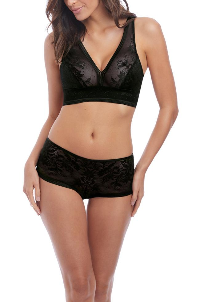Net Effects Bralette (Black)