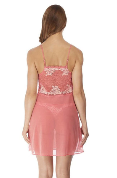Lace Perfection Chemise (Peach)
